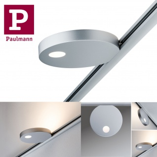 Paulmann 953.21 URail Spot Uplight Salto 16W Chrom matt 230V Metall