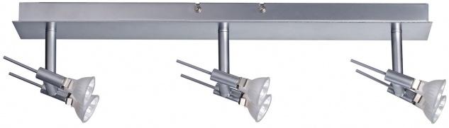 Paulmann Spotlights Ginger Balken 3x(2x20W) GU4 Chrom matt 230/12V 120VA Metall