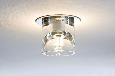 Paulmann Quality Einbauleuchte Set Glassy Tube LED 3x1W 3, 6VA 230/12V G4 Ø83mm Klar/Chrom Glas/Metall - Vorschau 3