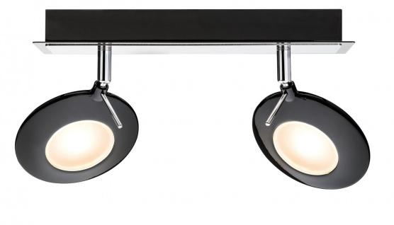 Paulmann Spotlight Orb Balken 2x3W Schwarz Chrom 230V Metall
