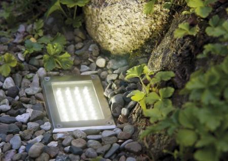 Paulmann Special Einbauleuchte Set Boden LED 3W 230V 165x103mm Edelstahl/Metall - Vorschau 5