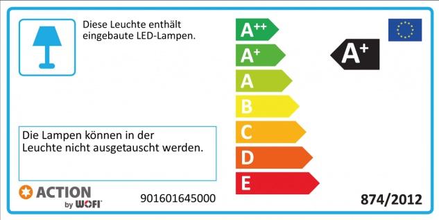 987109640000 Action Deckenlampe Veneta LED Deckenleuchte 9 x 3 W 3.000 K 1.890 Lumen Nickel matt - Vorschau 2
