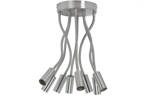 Paulmann Living CombiSystems Deckenleuchte max.8x60W E27 Eisen gebürstet 230V Metall
