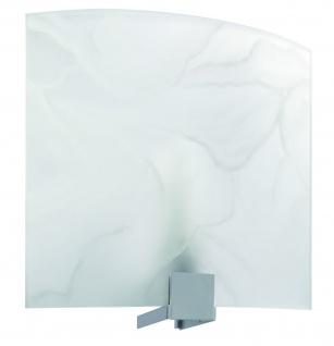 701.12 Paulmann Lampenschirme WallCeiling DS Modern Deco-Set WL Cove Alabaster 280x280mm Metall/Glas