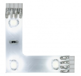 Function YourLED 90°-Connector 3x0, 24W Set TageslichtWs 12V DC Ws Kunststoff