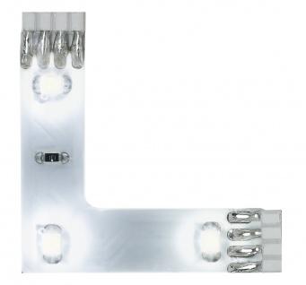 Paulmann Function YourLED 90°-Connector 3x0, 24W Set Tageslichtweiß 12V DC Weiß Kunststoff