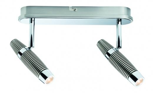 Paulmann Spotlight Channel LED Balken 2x10W Nickel gebürstet/Chrom 230V Metall - Vorschau 2