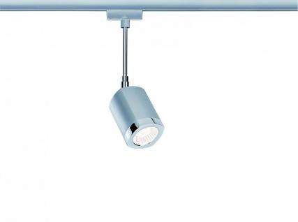Paulmann URail Schienensystems LED Spot Wankel 1x5, 4W Chrom matt/Chrom 230V Metall