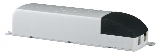Paulmann VDE Mipro Elektroniktrafo 35-105W 230/12V 105VA Grau/Schwarz
