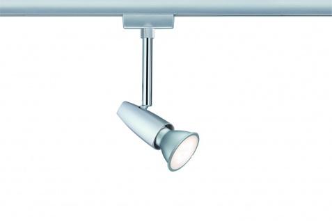 Paulmann 951.54 URail Schienensystem Light&Easy Spot BarelliLED 1x6, 5W GU10 230V Chrom matt/Chrom Metall