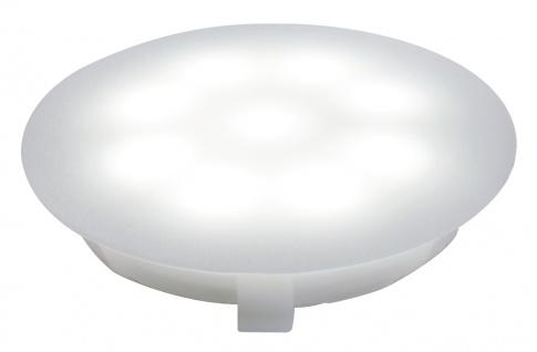 Paulmann 987.56 Special Einbauleuchte UpDownlight LED 1W 12V 45mm Satin/Kunststoff