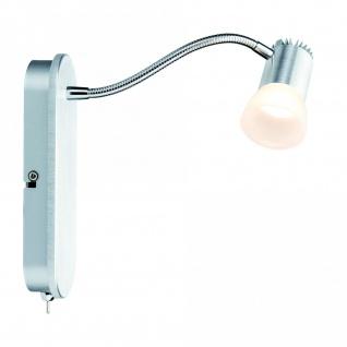 Paulmann 602.19 Spotlight Bariton Flex Balken 1x3W Alu gebürstet 230V Metall