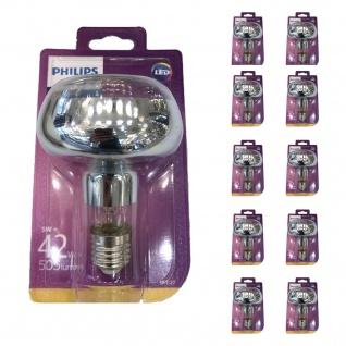 10x Philips 8718696714423 Reflektor mit Drehsockel 5 W (42 W), E27, warmweiß, nicht dimmbar, Reflektor