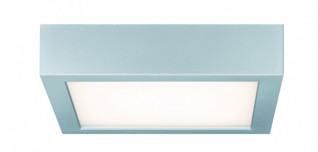 Paulmann WallCeiling Space LED-Panel 200x200mm 11W 230V Chrom matt/Weiß Kunststoff