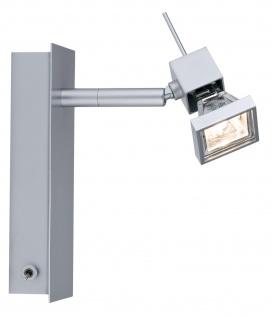 Paulmann Spotlights Cumin Balken 1x35W GU5, 3 Chrom matt 230/12V 60VA Metall