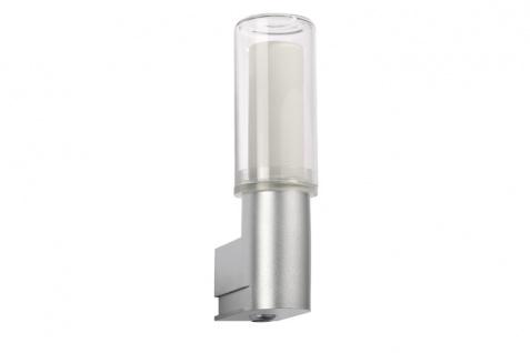 Paulmann 701.06 WallCeiling DS Modern Basis WL PIR Sensor Bewegungsmelder IP44 11W E27 Chrom matt 230V Kunststoff