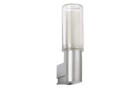 Paulmann WallCeiling DS Modern Basis WL PIR Sensor Bewegungsmelder IP44 11W E27 Chrom matt 230V Kunststoff
