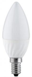 10 x 3392.10 Nice Price E14 Fassung NP LED Kerze 3W E14 230V Opal Warmweiß