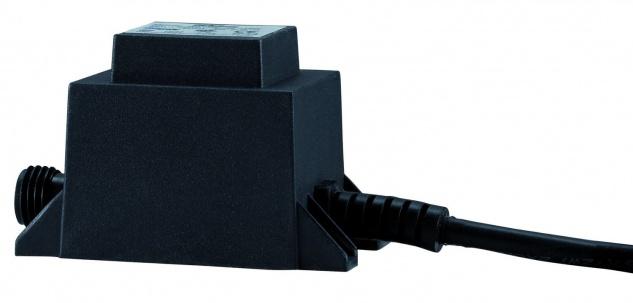Paulmann LED Trafo IP44 6W 230/12V AC 6VA Schwarz