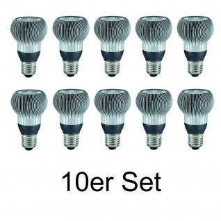 10x 28067.10 Paulmann E27 Fassung LED R63 Reflektor 38° 4, 5W Warmweiß