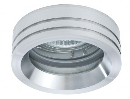 Paulmann 925.48 Premium Einbauleuchte Set Curl rund schwenkbar 3x35W 105VA 230/12V GU5, 3 84mm Alu