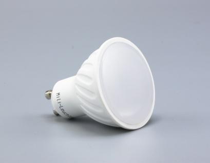MILI 6er Set LED Leuchtmittel 7W GU10 3000K Warmweiss 230V 490lm Weiß dimmbar entspricht 50W Halogen - Vorschau 2