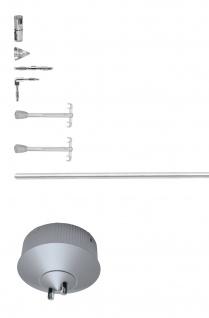 Paulmann Schienensystem Light&Easy Basissystem Hip Hop 300 Chrom matt 230/12V 300VA Metall