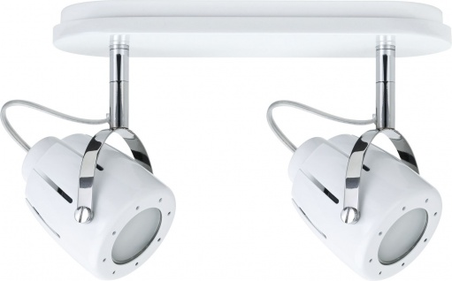 Paulmann Spotlights Mega Balken 2x11W GU10 Weiß 230V Metall