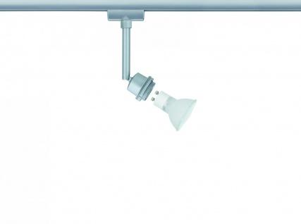 950.19 Paulmann U-Rail Einzelteile URail System DecoSystems Halogen Spot 1x40W GZ10 Chrom matt 230V Metall