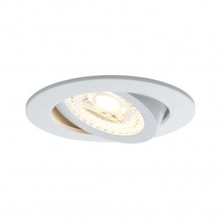 Paulmann SmartHome Zigbee Lens Einbauleuchte Set LED 3x4, 8W RGBW schwenkbar 230/24V 15W 80mm Weiß m/Alu Zink