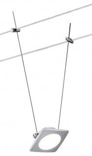 Paulmann Wire Systems DC Spot QuadLED 1x4W Chrom matt 12V DC Kunststoff