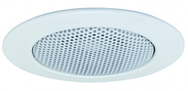 Paulmann 986.75 Premium Einbauleuchte Lautsprecher 51mm Weiß/Alu Zink