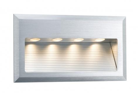 Paulmann 937.52 Special Einbauleuchte Set Cross Wand LED 4W 6VA 230V 10x18cm Alu gebürstet/Alu - Vorschau 2