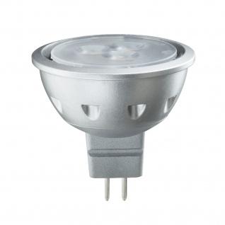 10 Stück 28157.10 Paulmann 12V Fassung LED Quality Reflektor 5W GU5, 3 12V Warmweiß 1200cd/25°