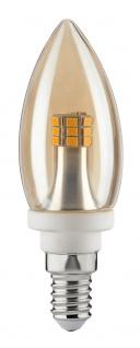 Paulmann 283.09 LED Kerze 4W E14 230V Gold 2700K