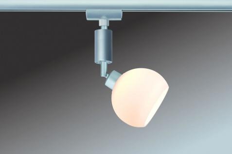 Paulmann URail Schienensystem Spot Wolbi 1x3W Chrom matt/Weiß 230V/12V Metall/Glas