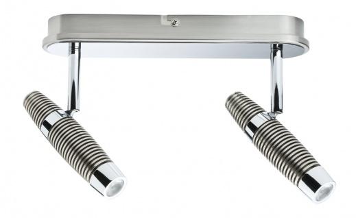 Paulmann Spotlight Channel LED Balken 2x10W Nickel gebürstet/Chrom 230V Metall - Vorschau 5
