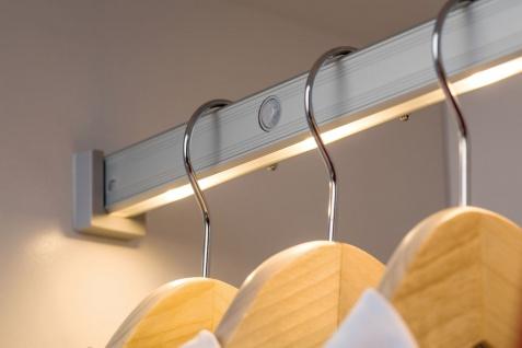 Paulmann Function DressLight Kleiderstange kürzbar IR-Sensor 60cm LED Alu 4x1, 5VAAA Alu Kunststoff - Vorschau 4