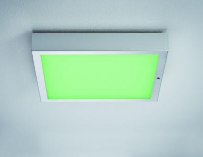 Paulmann WallCeiling Space LED-Panel RGBW 300x300mm 15, 5W 230V Chrom matt Weiß Kunststoff - Vorschau 4