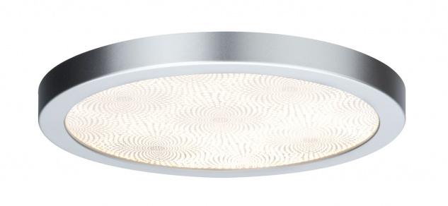 Paulmann WallCeiling Ivy LED-Panel IP44 300mm 14W 230V Chrom matt/Kunststoff