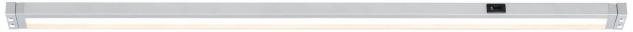 Paulmann 704.44 Function SenseLight Schubladenleuchte PIR Sensor Bewegungsmelder 10W LED Alu matt 230V/12V Alu Kunststoff