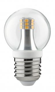 Paulmann 283.17 LED Tropfen 4W E27 230V Klar 2700K
