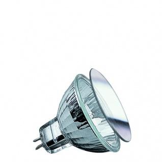 Paulmann Security Halogen Reflektor mit Schutzglas 20W GU5, 3 12V 51mm Silber
