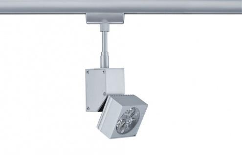 Paulmann 950.36 URail Schienensystem Light&Easy Spot LEDmanz1 1x3W Chrom matt 230V Metall - Vorschau 2