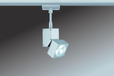 Paulmann 950.36 URail Schienensystem Light&Easy Spot LEDmanz1 1x3W Chrom matt 230V Metall