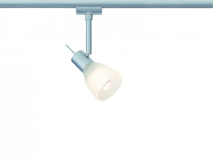 Paulmann URail Syst. Light&Easy LED Spot Phara 1x3W GU10 Chrom matt/Satin 230V Metall/Glas