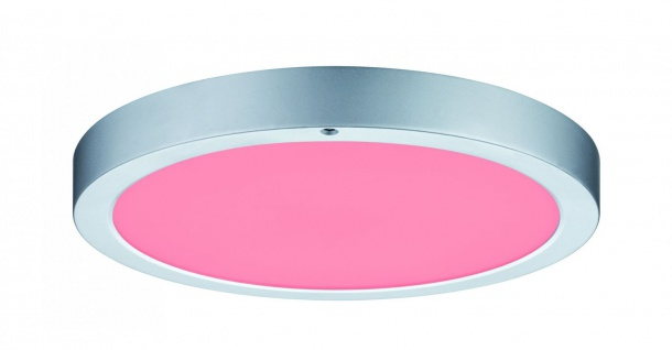 Paulmann WallCeiling Orbit LED-Panel RGBW 300mm 15W 230V Chrom matt Weiß Kunststoff