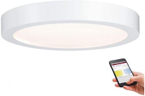 Paulmann SmartHome Bluetooth Nox LED-Panel 300mm 21W 230V Weiß matt Kunststoff