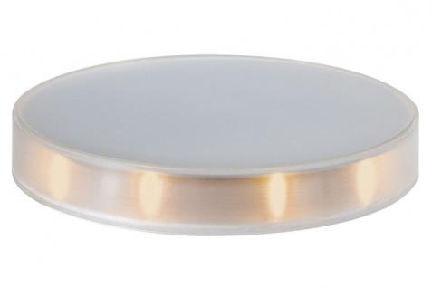 TIP 290.38 Smart LED Night-Disc Nachtlicht Titan/Amber inkl. Ladegerät Kunststoff