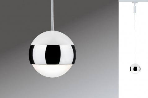 URail System LED Pendel Capsule 1x4, 5W Weiß 230V Metall